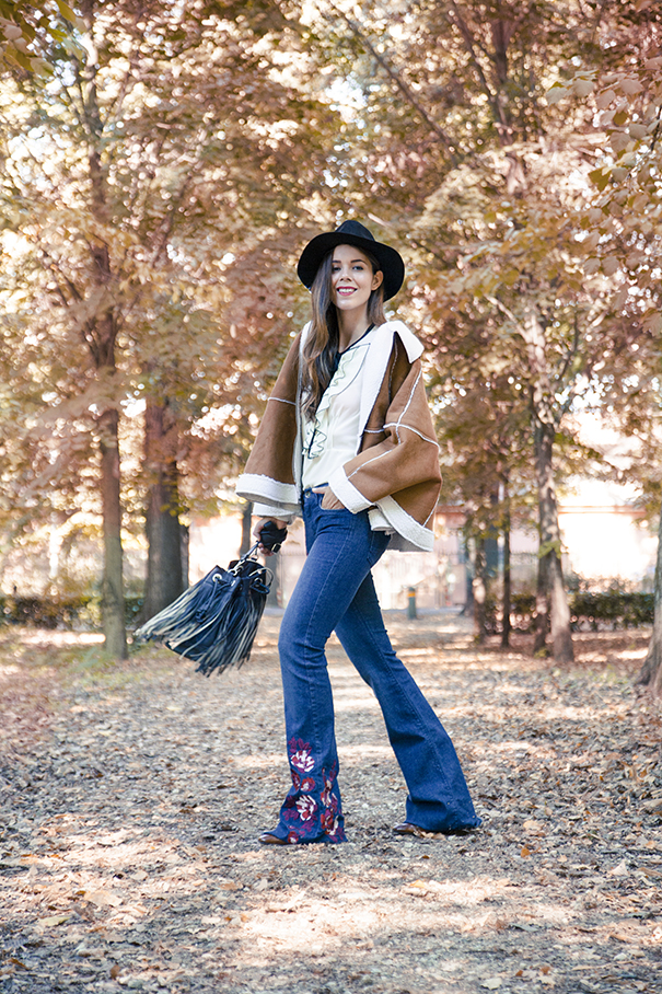 LOOK ANNI 70 OVS FASHION BLOGGER IRENE COLZI OVS FASHION MESSAGE (13)