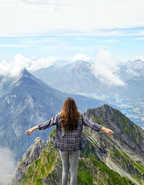 montagne francesi | alta savoia | panorama montagna