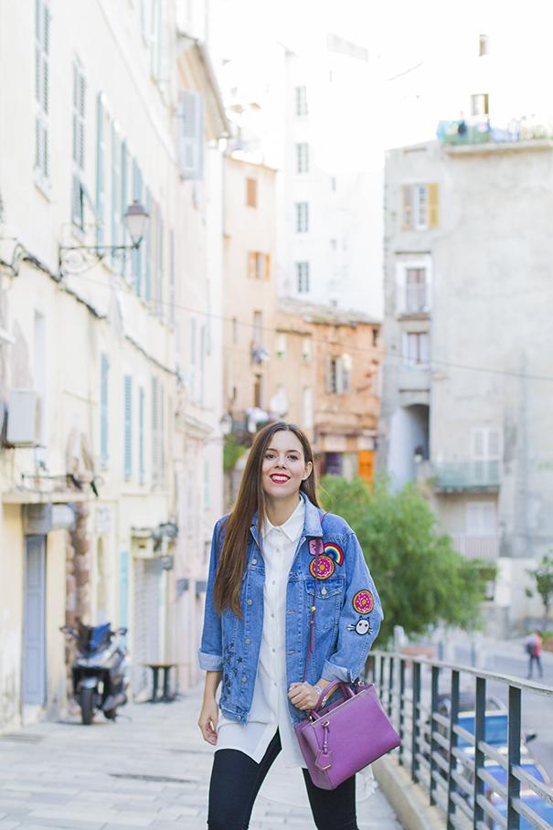 giacca in denim personalizzata | giacca di jeans personalizzata | irene colzi | irene's closet | web influencer | italian web influencer