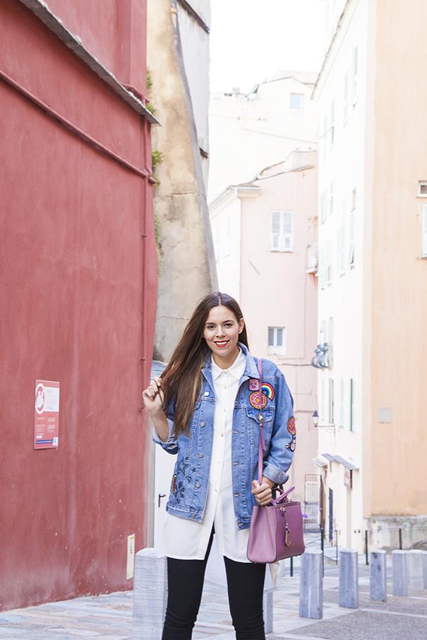 giacca in denim personalizzata | giacca di jeans personalizzata | irene colzi | irene's closet