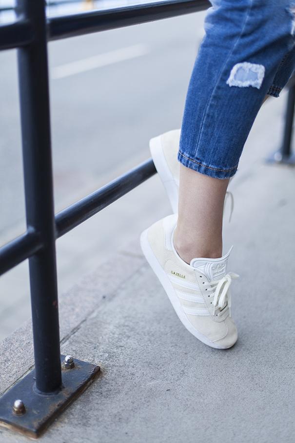 adidas gazzelle beige | trend adidas gazzelle