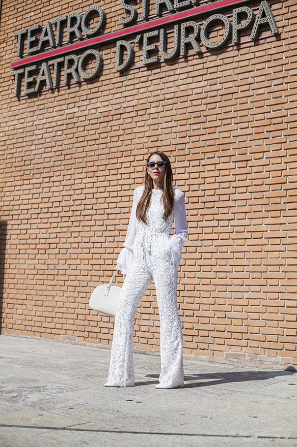 come indossare un look total white | un outfit tutto bianco