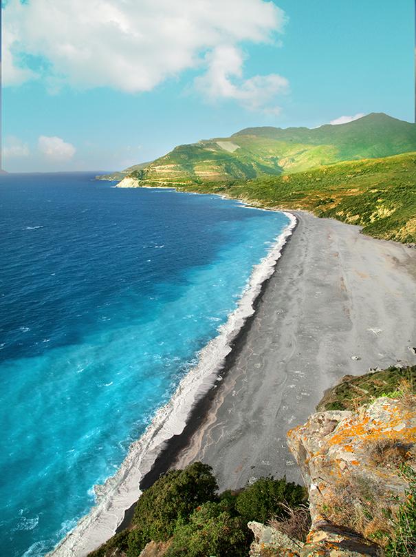 spiagge in corsica | nonza spiaggia