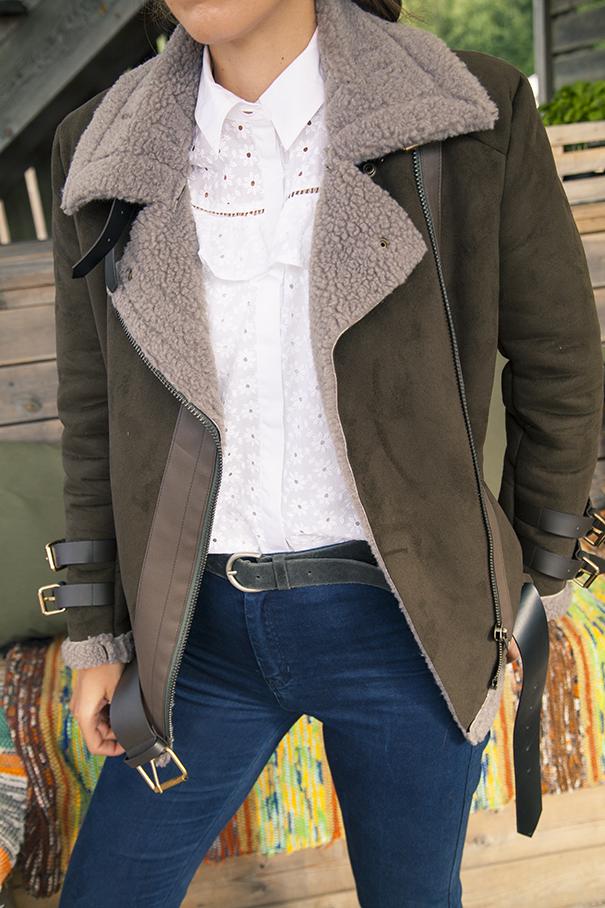 giacca di montone | come abbinare il montone | look con giacca di montone