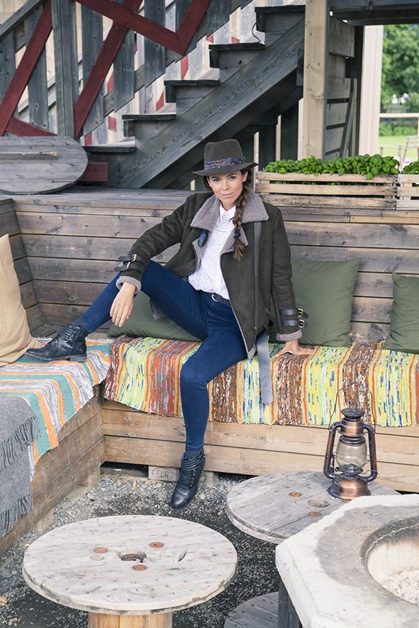outfit giacca di montone | come indossare il montone | outfit con giacca di montone | irene colzi