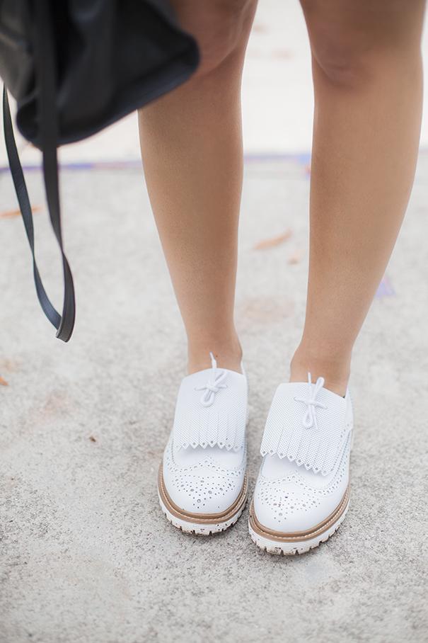 scarpe bianche | scarpe a terra bianche | come indossare le scarpe bianche