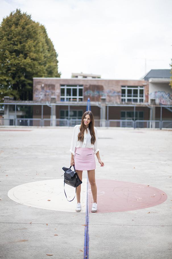 Come indossare il rosa pastello
