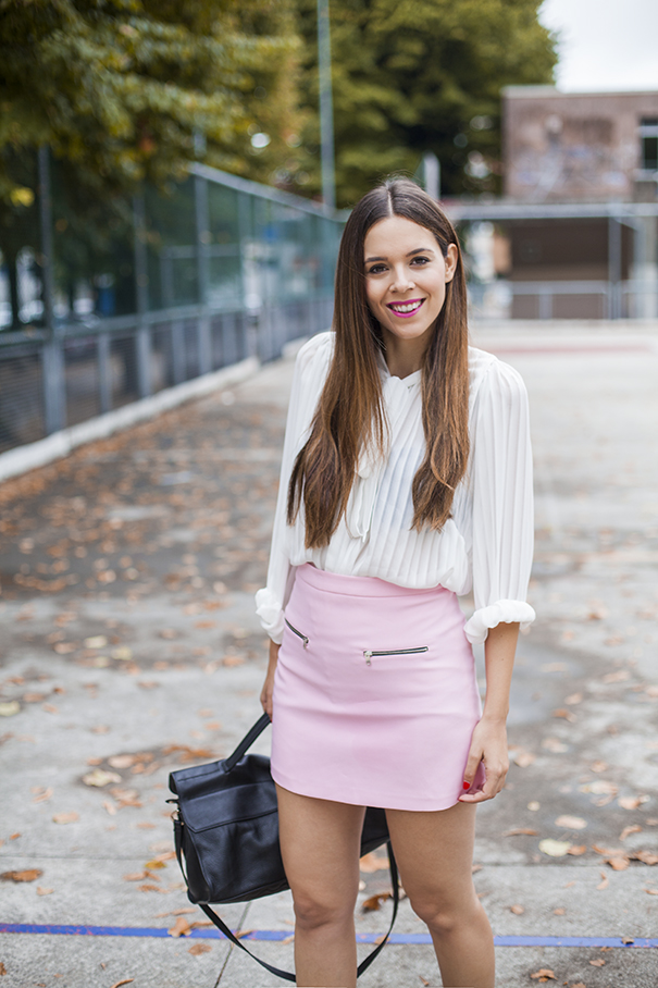 outfit gonna rosa | look pastello | irene colzi