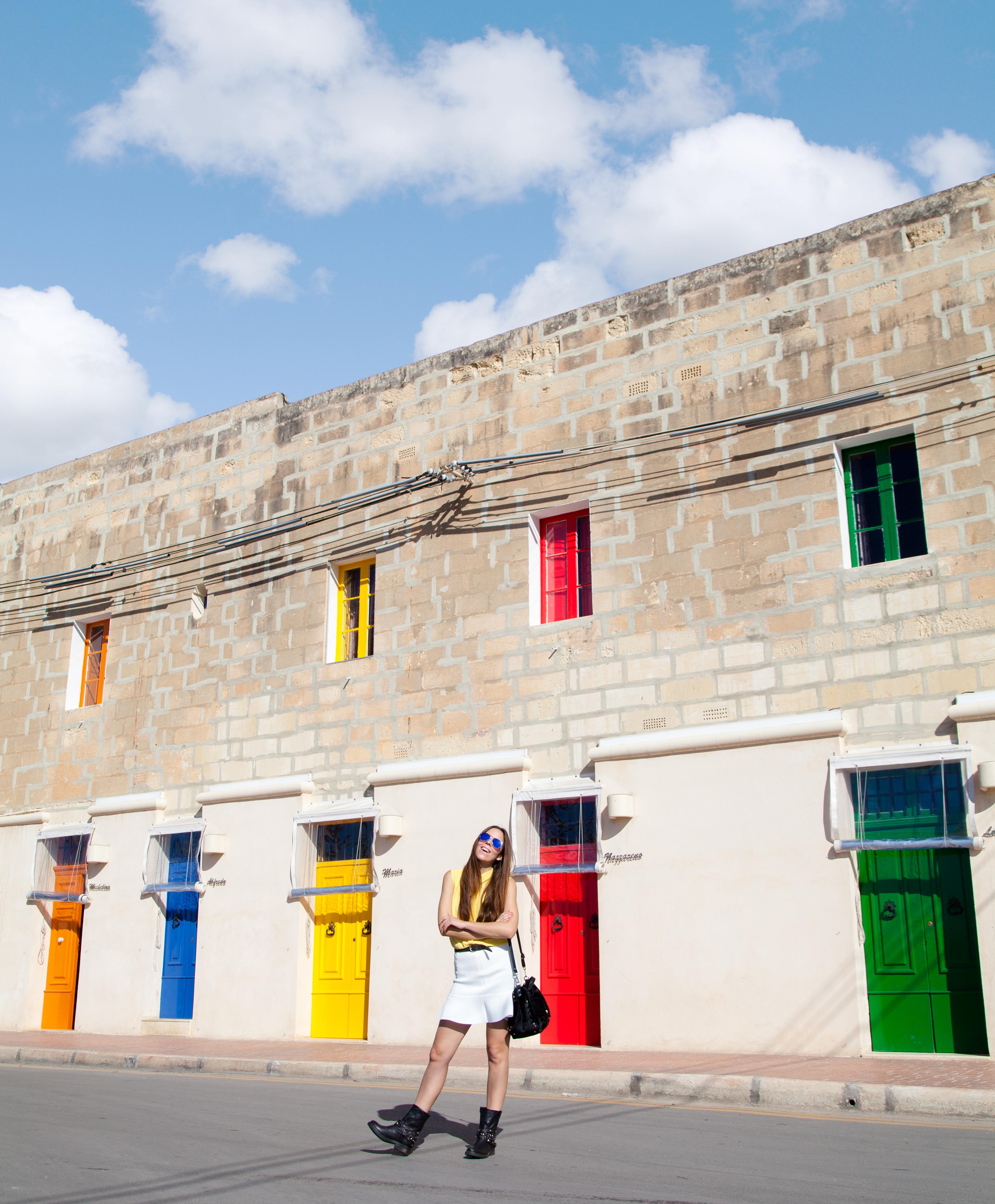 cosa vedere a Malta | case maltesi | palazzi maltesi