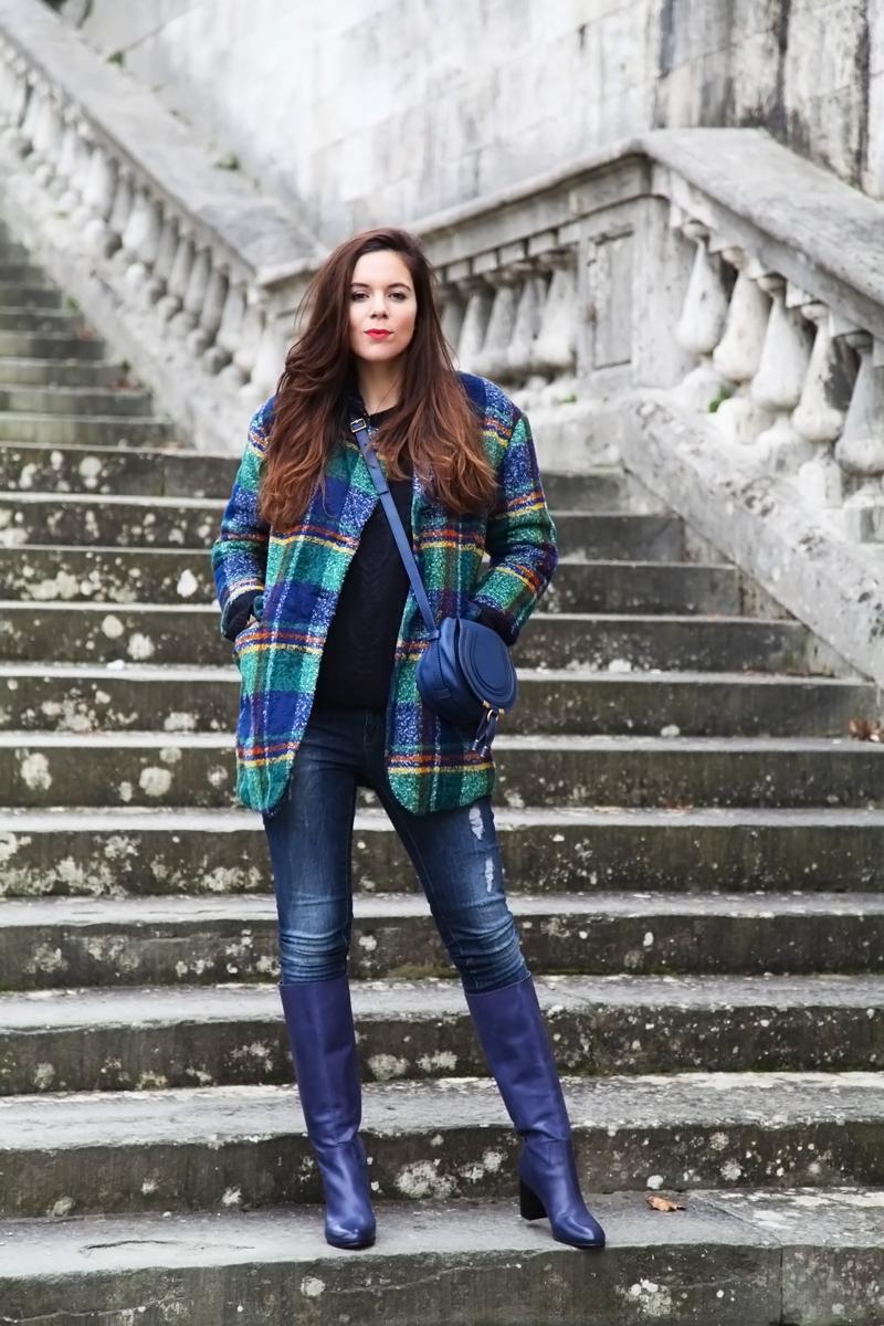 Tartan e scozzese tendenza inverno 2017