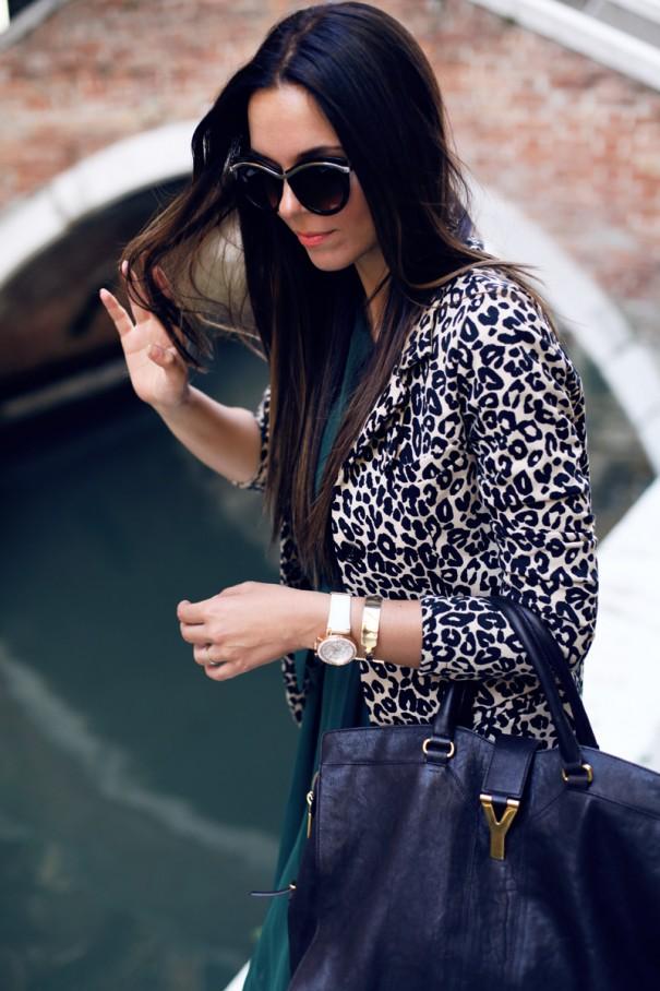 irene colzi | tendenza animalier | cappotto leopardato