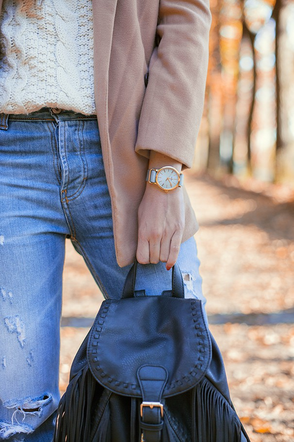 influencer irene colzi fashion blogger timex watch
