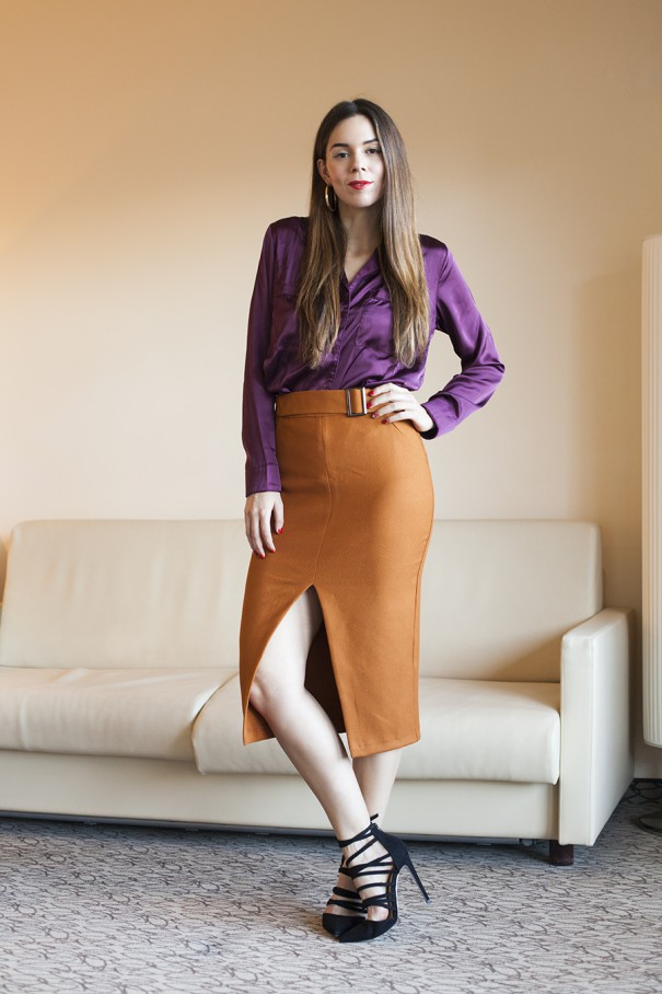 outfit colorato look casual