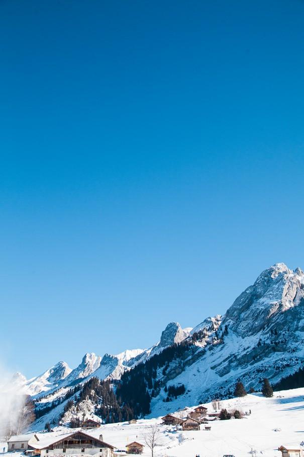 montagna alta savoia la clusaz