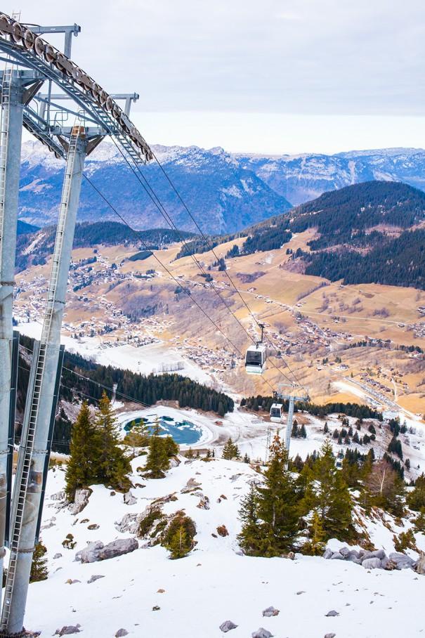 montagna francese la clusaz alta savoia