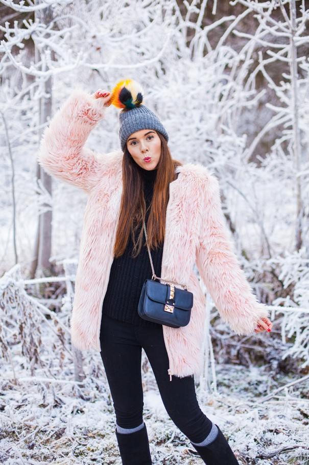 outfit invernale , look inverno
