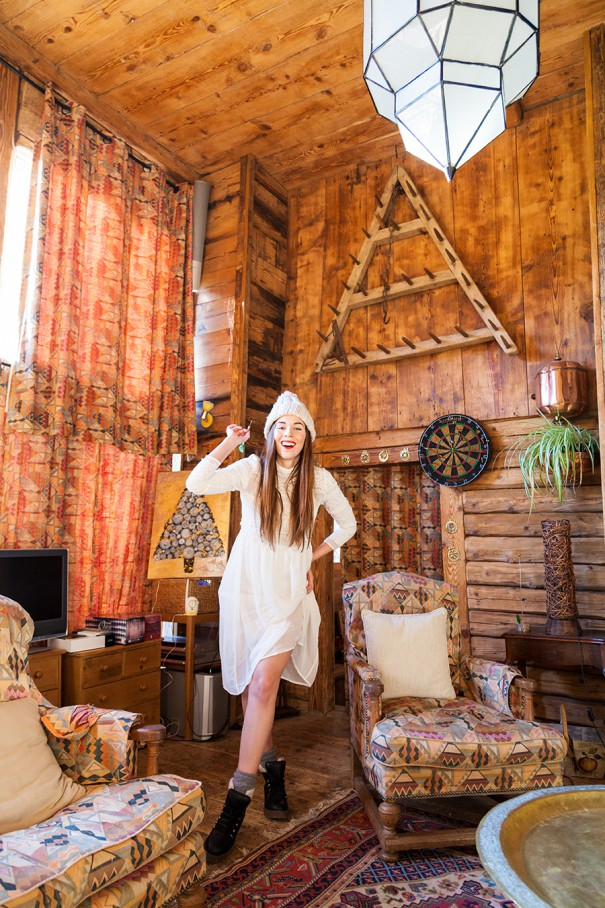 travel blogger irene colzi , chalet in montagna