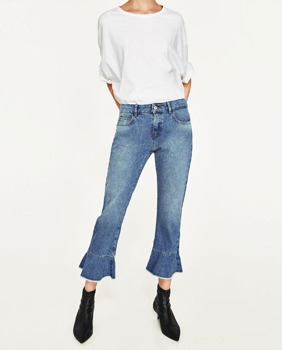 jeans primavera estate 2017 | jeans con fondo a campana