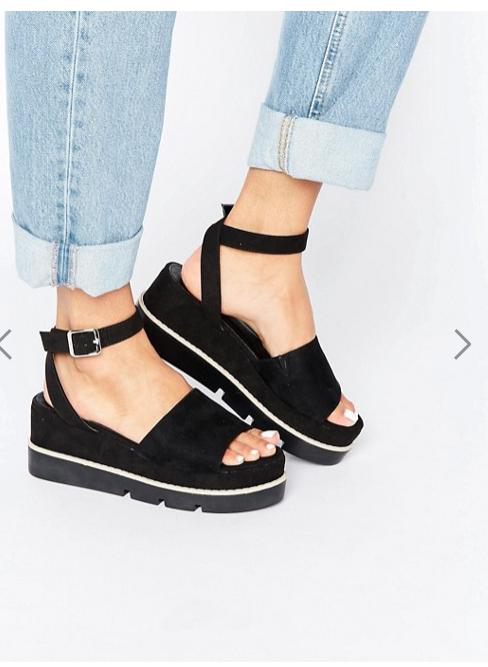 trend scarpe primavera estate 2017 sandali con platform leggero
