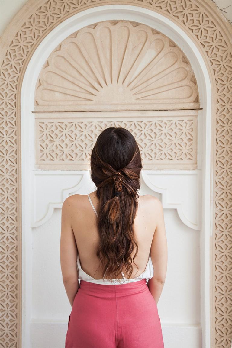 Acconciatura semplice per capelli lunghi in 2 minuti!