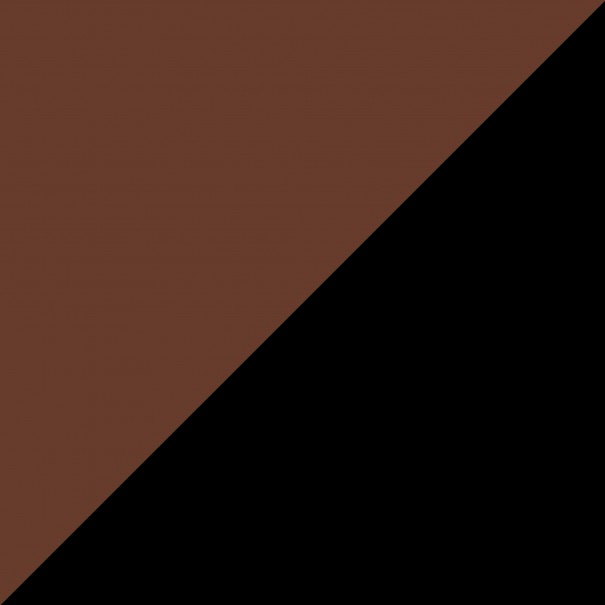 come abbinare i colori dei vestiti marrone con nero