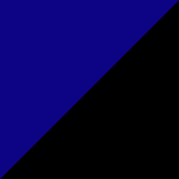 come abbinare i colori dei vestiti nero con blu