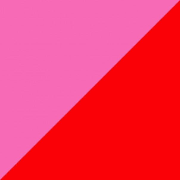 come abbinare i colori dei vestiti rosso con rosa