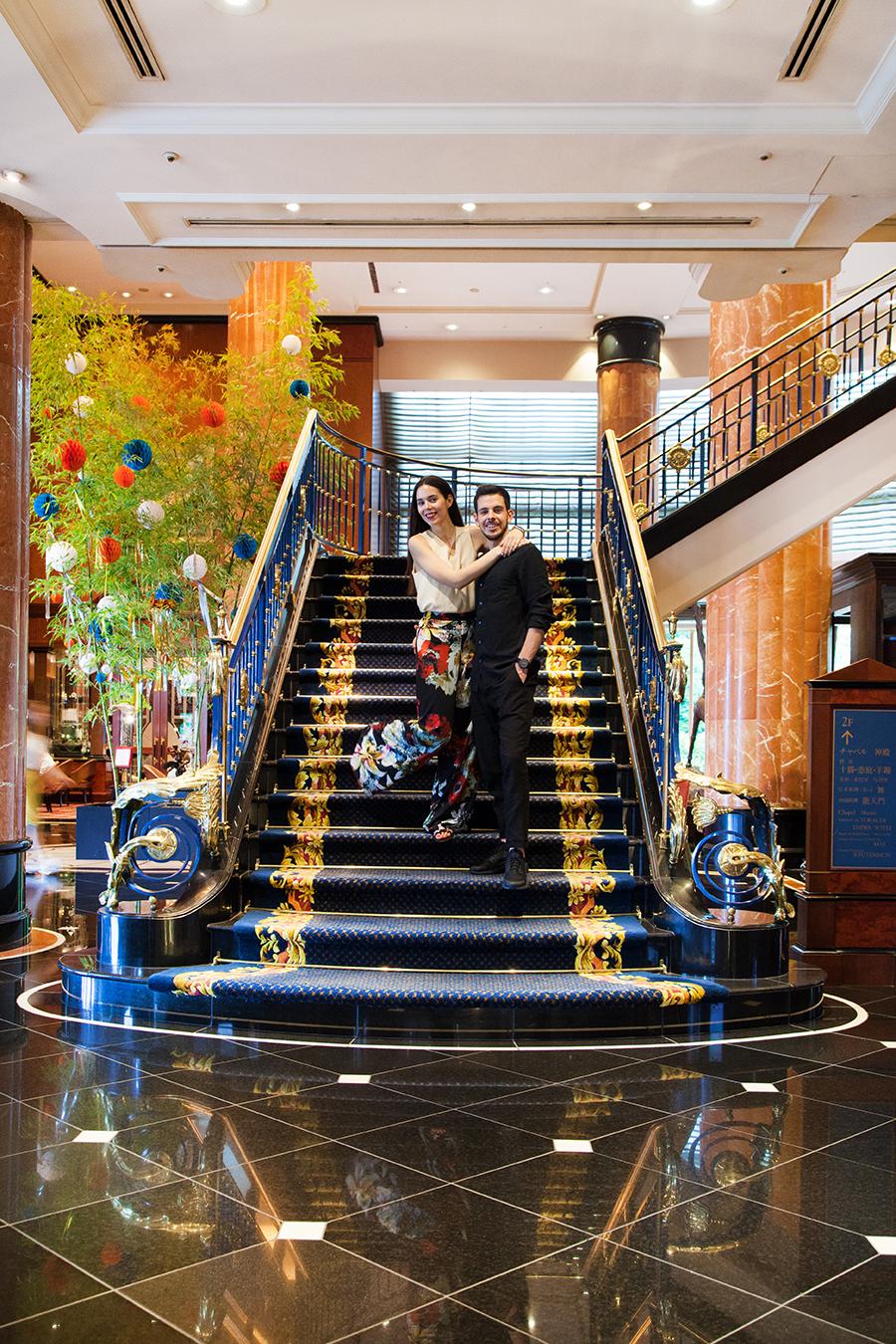 irene colzi e gabriele colzi hotel westin tokyo