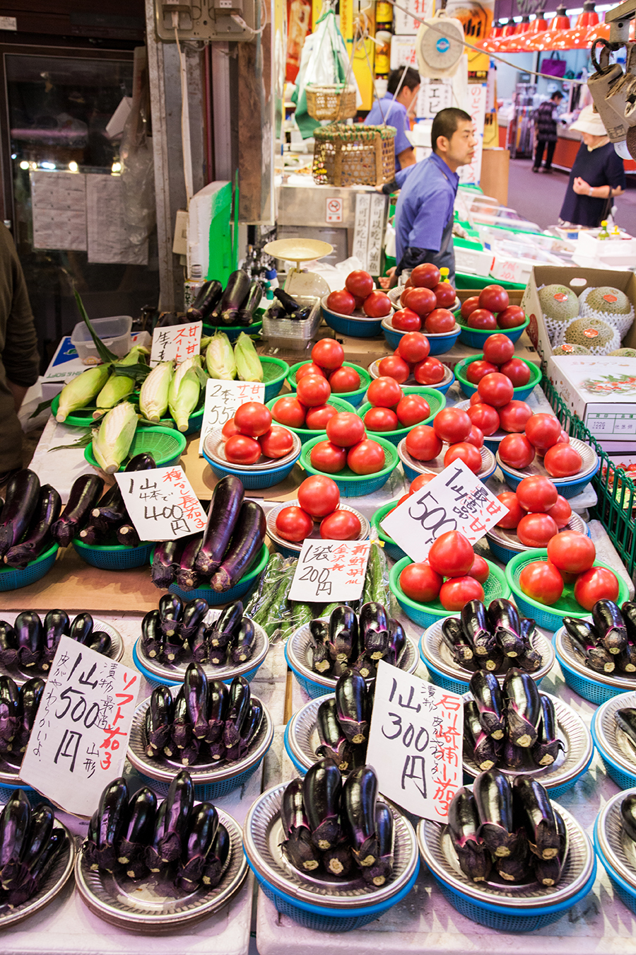 mercato del pesce di kanazawa