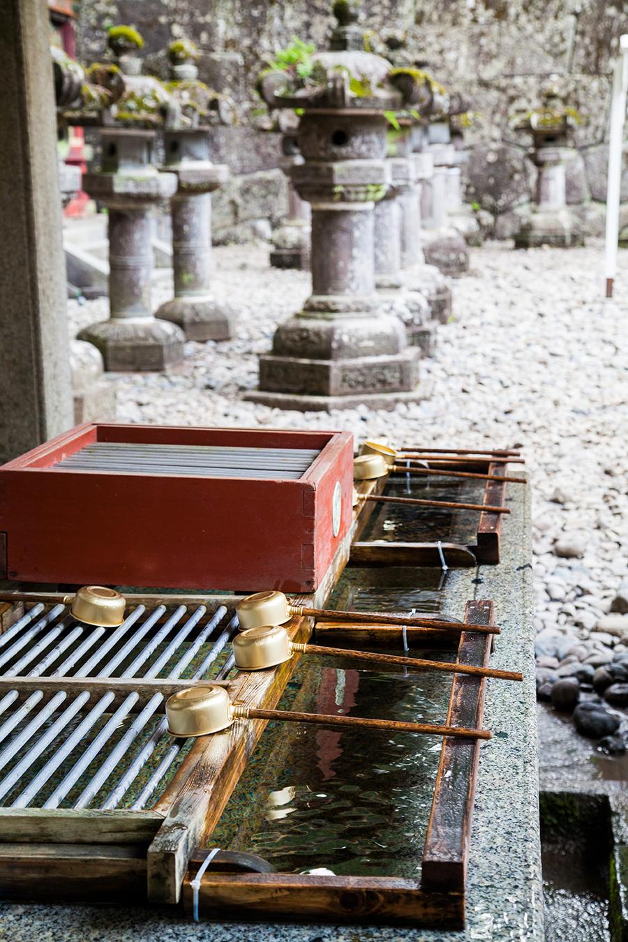 nikko fontana tempio