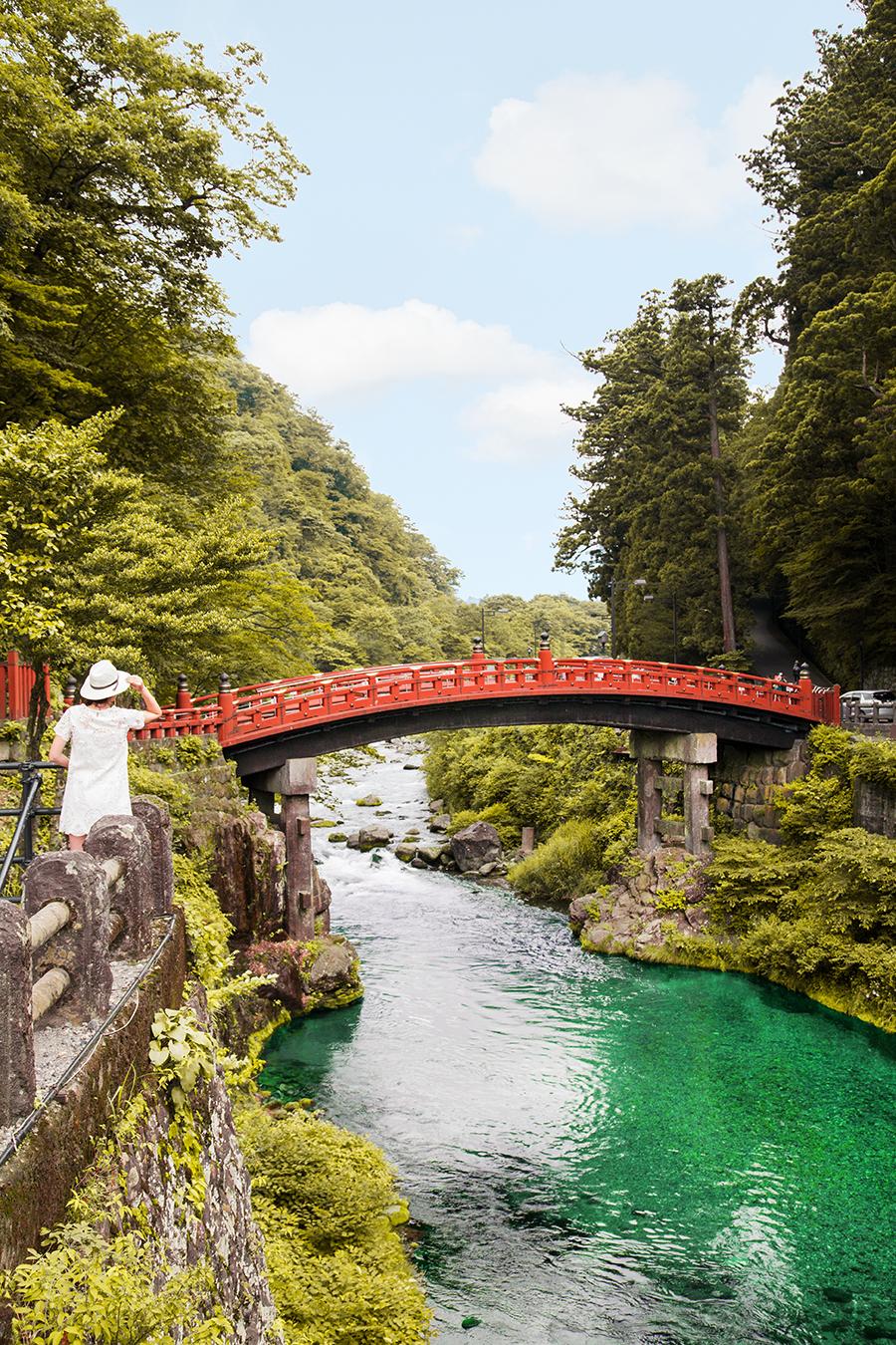 cosa vedere a nikko | nikko ponte rosso