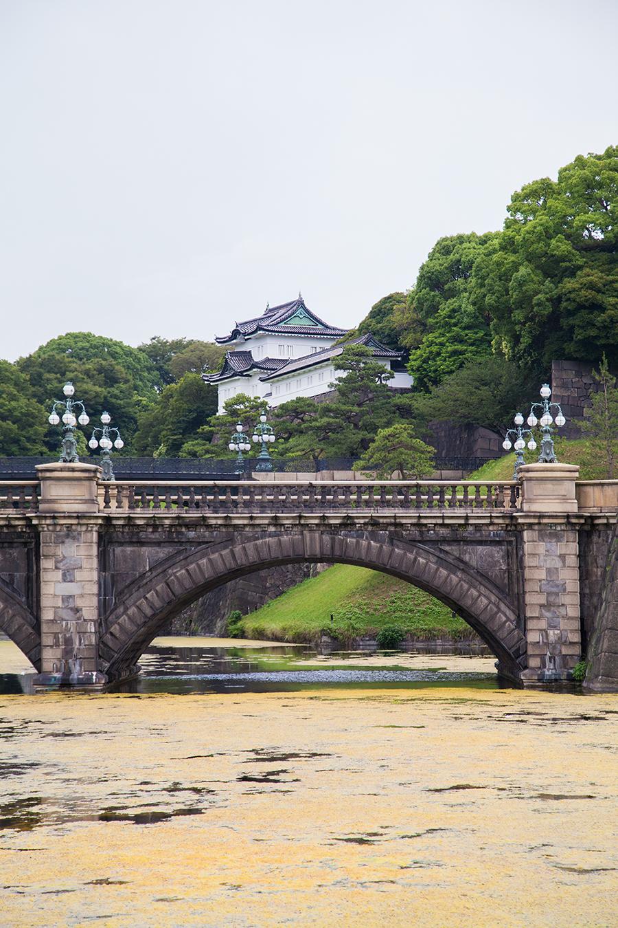 palazzo imeperiale tokyo casa dell'imperatore