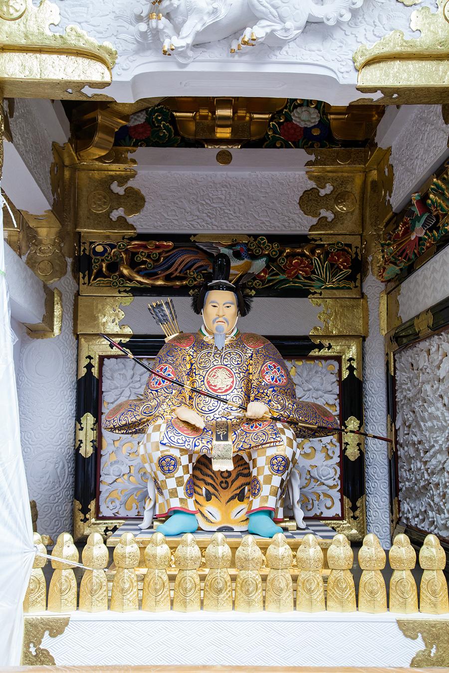 statua samurai a nikko