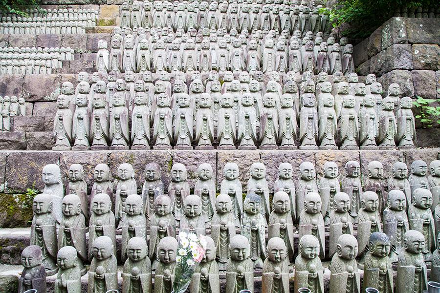 statue tempio tokyo