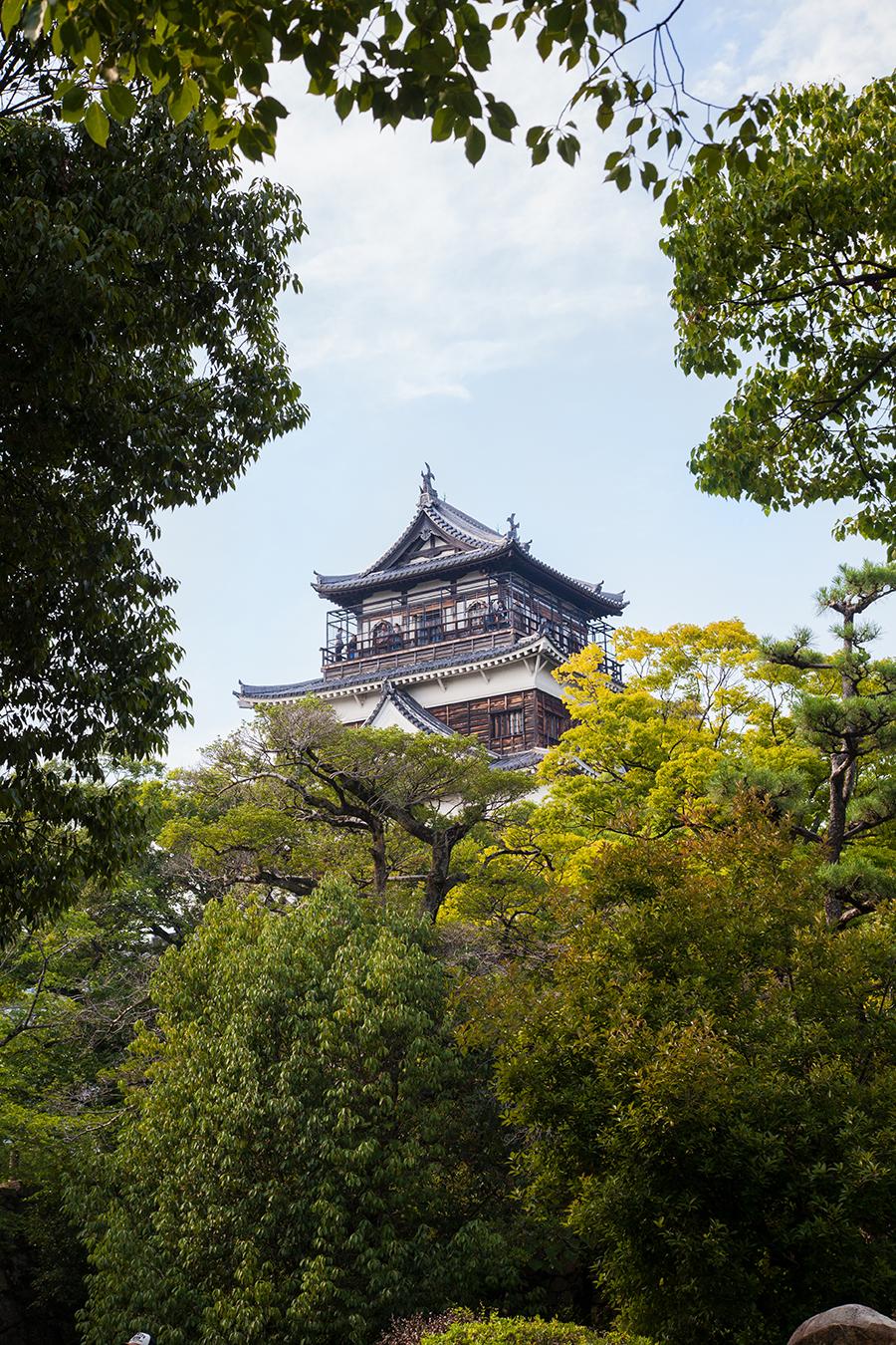 castello di hiroshima giappone
