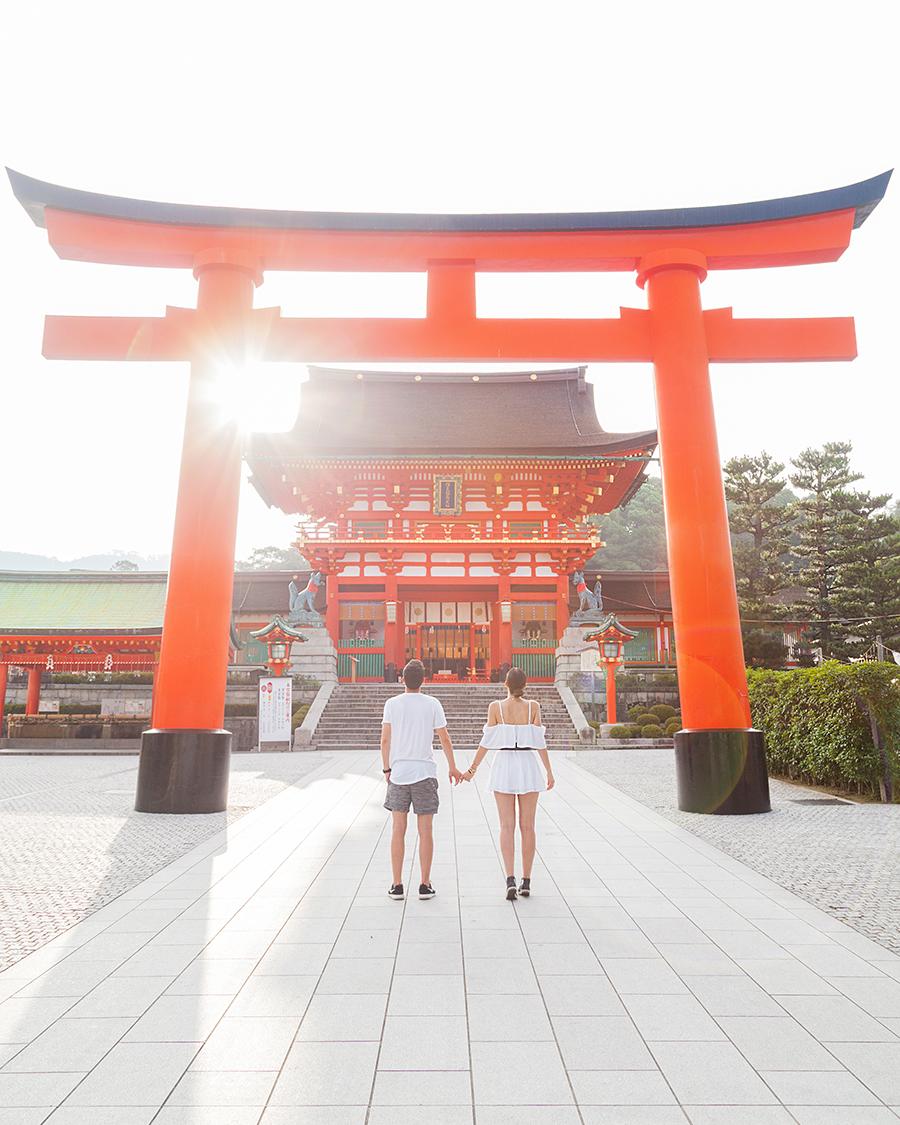 fushimi inari kyoto irene colzi