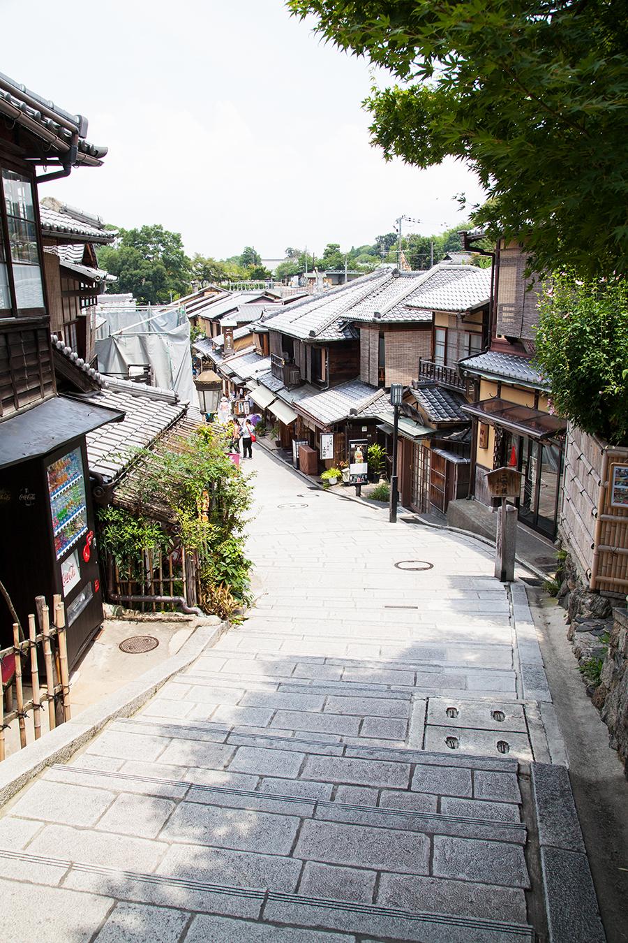 kyoto strada in giappone