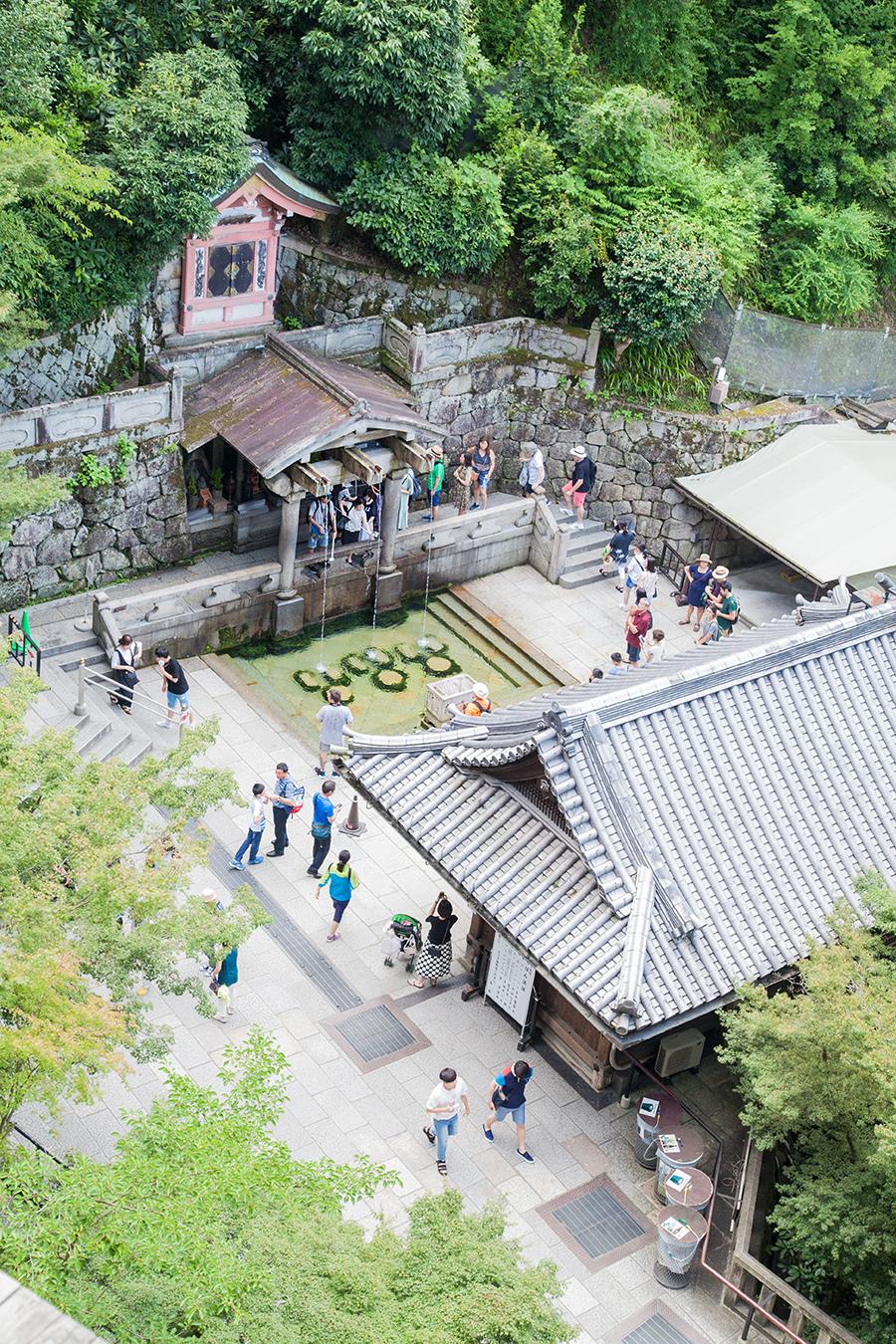 tempio a kyoto panorama
