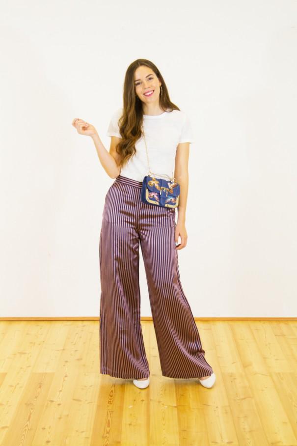 idea look pantaloni palazzo