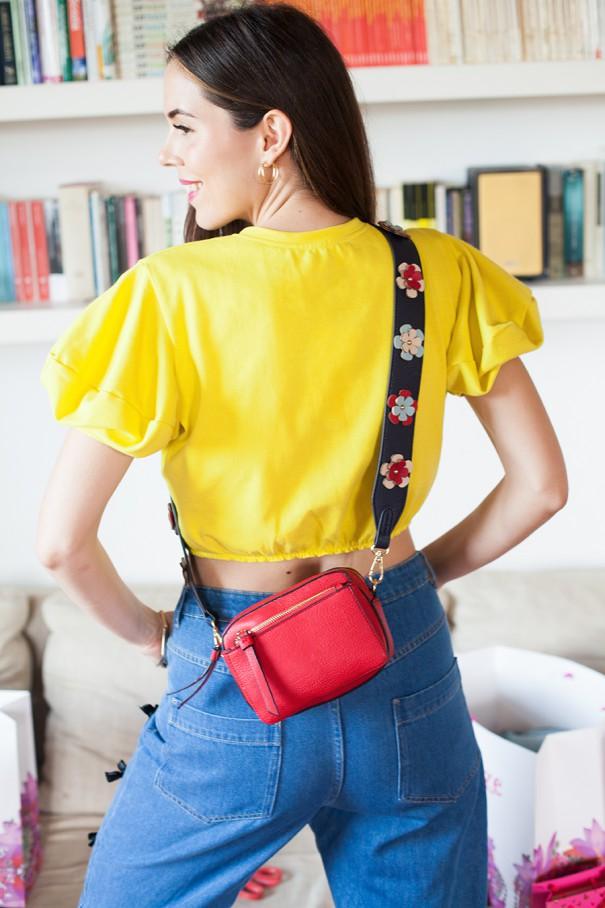 borsetta accessorize rossa con tracolle scambiabili