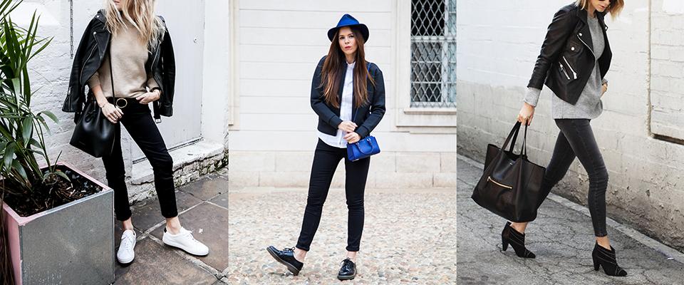 come abbinare i jeans neri idee outfit