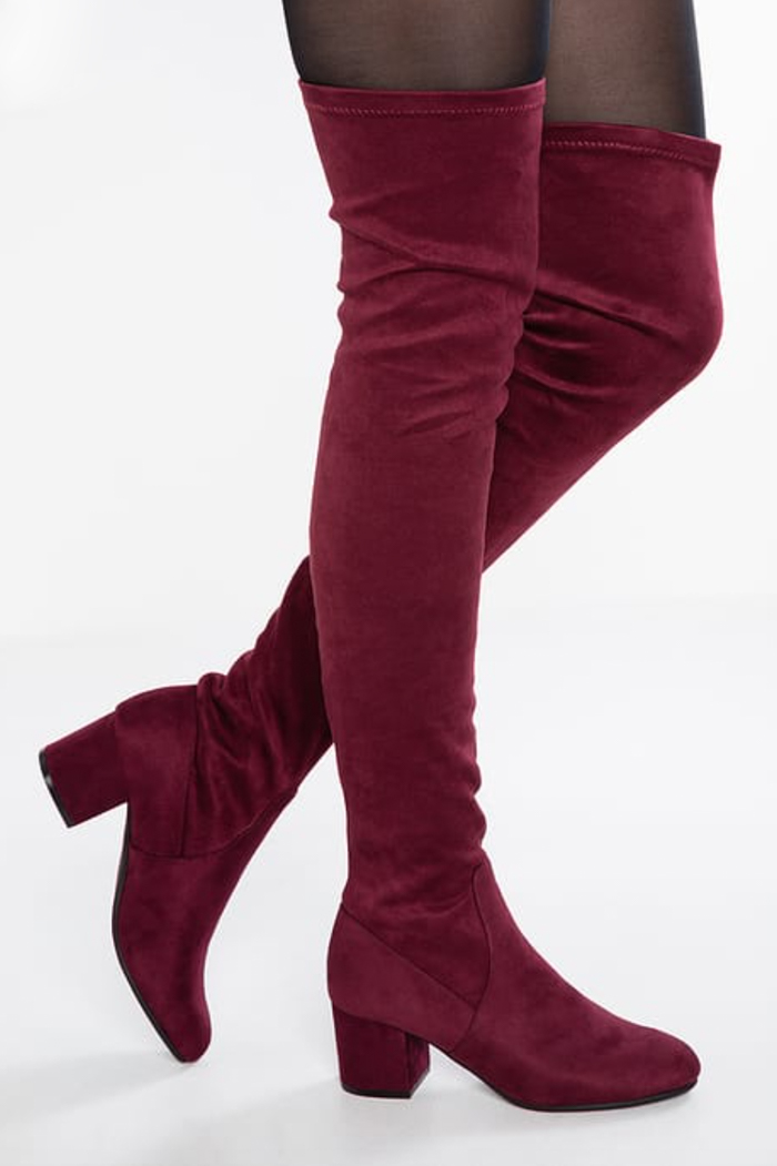 Come indossare gli stivali sopra il ginocchio
