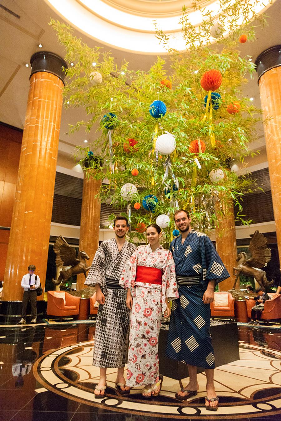 dove indossare il kimono in giappone