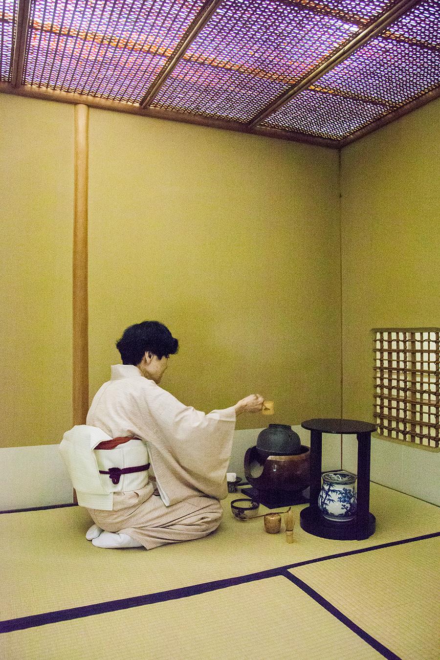 hotel imperial tokyo cerimonia del the