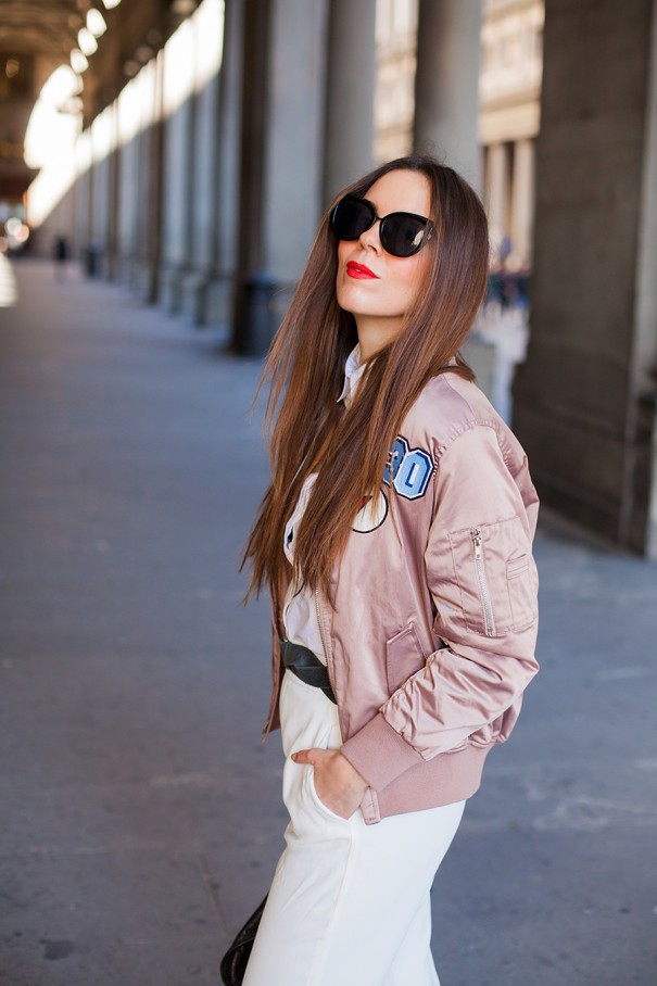 irene colzi irene s closet bomber rosa outfit casual