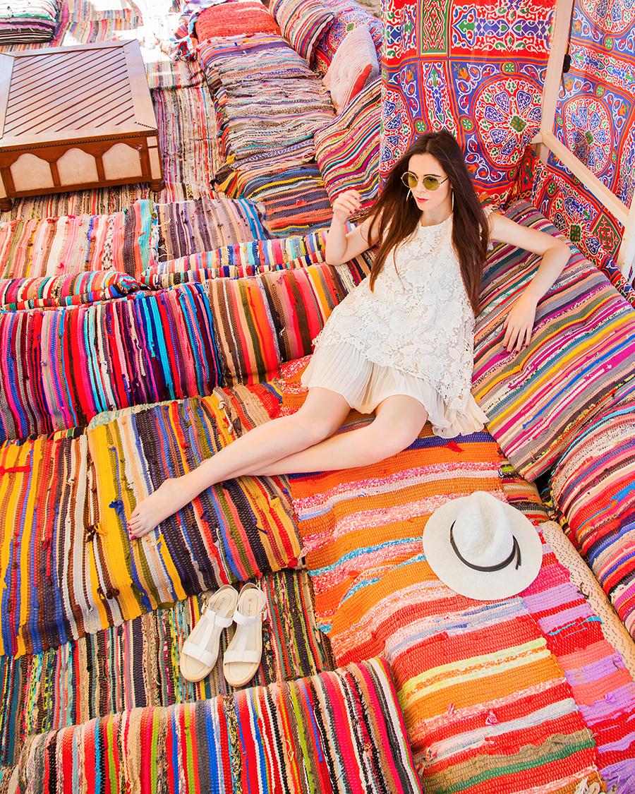 irene colzi web influencer fashion travel influencer