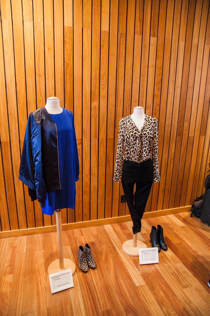 presentazione vestiti lidle evento a new york