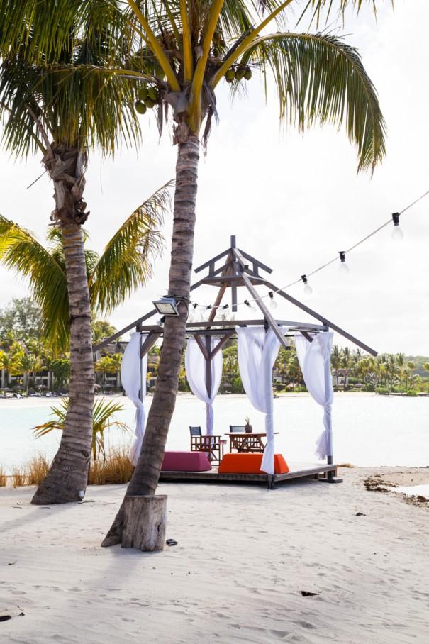 shangri-la's resort spiaggia in mauritius | dove dormire a mauritius