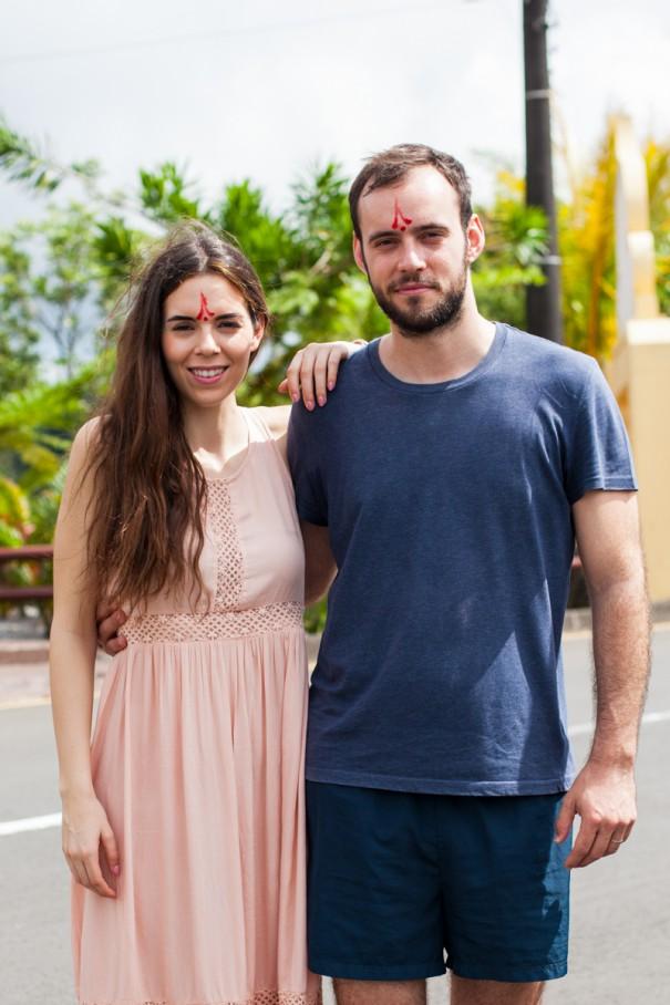 mauritius benedizione induista | irene colzi giovanni gambassi