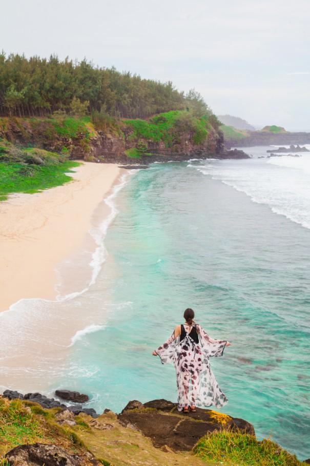 mauritius spiaggia gris gris